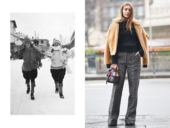 Шерстяные брюки 1920-х и шерстяные брюки 2020 фото