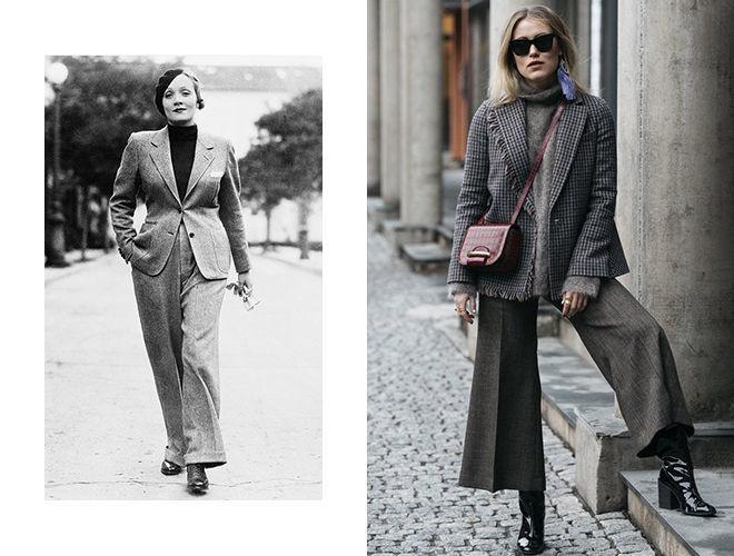 Широкие штанины 1940-х фото