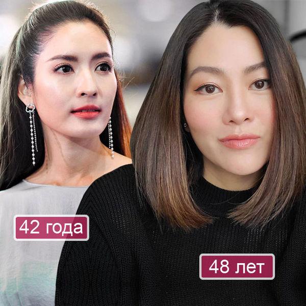 Азиатка с гладкой кожей