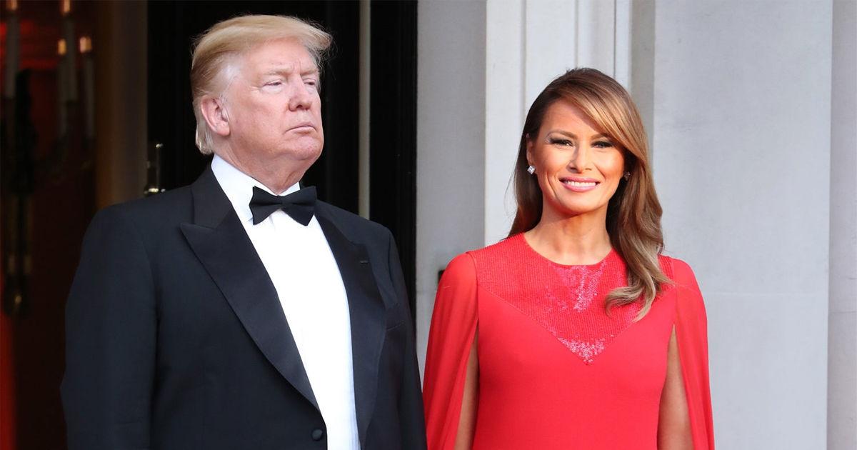 фотографии жены трампа за последние дни форма помещения приближается